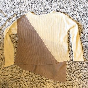 Devoted by Dex Asymmetrical Sweater